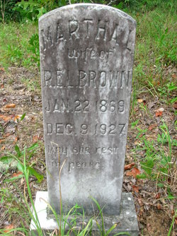 Martha L. <I>Sauls</I> Brown