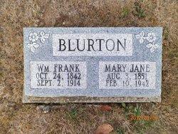 Mary Jane <I>Anglen</I> Blurton
