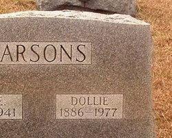 Dollie Rae <I>Davis</I> Parsons