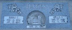 Mary Christine <I>Chanenhouse</I> Hayes