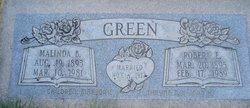 Malinda <I>Burton</I> Green
