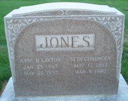 Anne Barnes <I>Layton</I> Jones