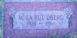 Mary LaRue <I>Tuttle</I> Oberg