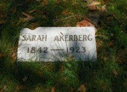 Sarah B <I>Lofgren</I> Akerberg