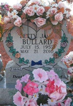 Betty Jane <I>Casey</I> Bullard