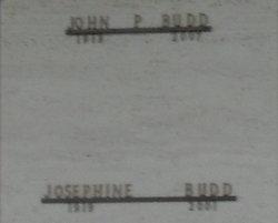 Josephine <I>Dohm</I> Budd
