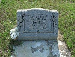 Mildred W Hamler