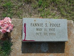 Fannie S Poole