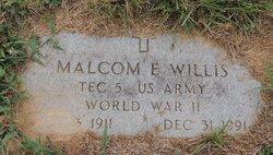 Malcolm E. Willis