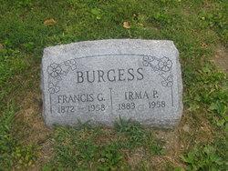 Irma Pearl <I>Graydon</I> Burgess