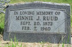 Minnie J Ruud