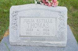 Julia Estelle <I>Robinson</I> Thomas