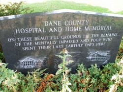 Dane County Hospital and Home Cemetery