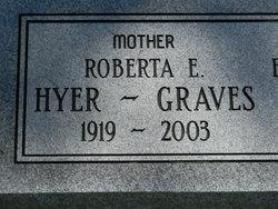 "Roberta E ""Bertie"" <I>Guyton</I> Graves"