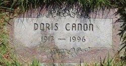 Doris <I>Weston</I> Cannon