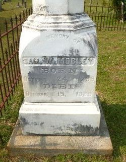 """Col Samuel Wagner """"Sam"""" Mobley"""