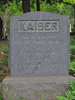 Mary <I>Blake</I> Kaiser