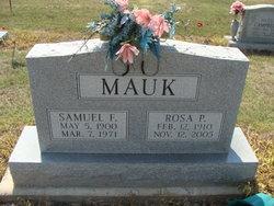 Samuel Frederick Mauk