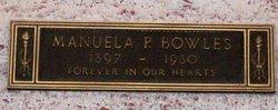 Manuela <I>Oaxaca y Pallares</I> Bowles