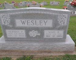 Mary <I>Reed</I> Wesley