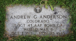 "Andrew George ""Andy"" Anderson"