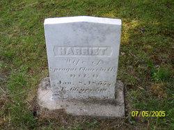 Harriett <I>Holmes</I> Churchill