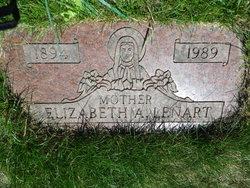 """Elizabeth """"Elsie"""" <I>Waradzyn</I> Lenart"""