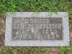 "Matilda ""Tillie"" <I>Peterson</I> Anderson"