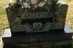 Edith J. <I>Hall</I> Anderson