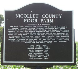 Nicollet County Poor Farm Cemetery