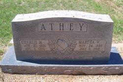 Charlie Monroe Athey