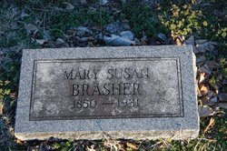 Mary Susan <I>Huffman</I> Brasher