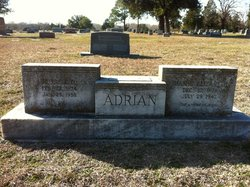 Mamie Elizabeth <I>Daniel</I> Adrian