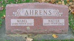 Mabel Ina <I>Beecher</I> Ahrens