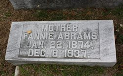 Fannie <I>Cohn</I> Abrams