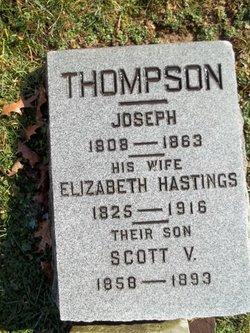 Elizabeth <I>Hastings</I> Thompson