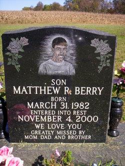 Matthew R Berry