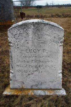 Lucy B <I>Faulkingham</I> Church
