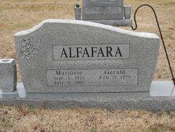 "Marjorie ""Midge"" <I>Mounts</I> Alfafara"