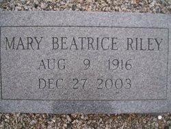 Mary Beatrice Riley