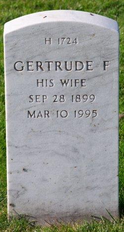 Gertrude F Sinclair