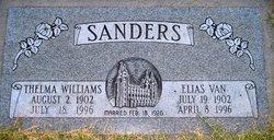 Thelma Isabell <I>Williams</I> Sanders