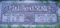Zina Mabel <I>Williams</I> Christensen