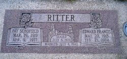 Fay <I>Schofield</I> Ritter