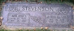 June Edith <I>Eades</I> Stevenson
