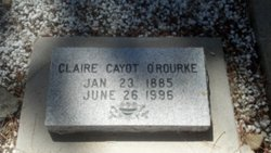 Claire Josephine <I>Cayot</I> O'Rourke