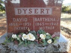 Barthena Jane <I>Hillbrant</I> Dysert