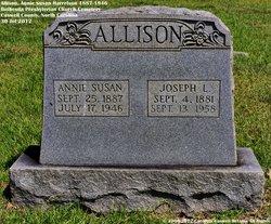 Annie Susan <I>Harrelson</I> Allison