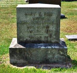Mary Elizabeth <I>Reid</I> Blackwell