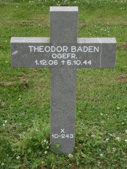 Theodor Baden